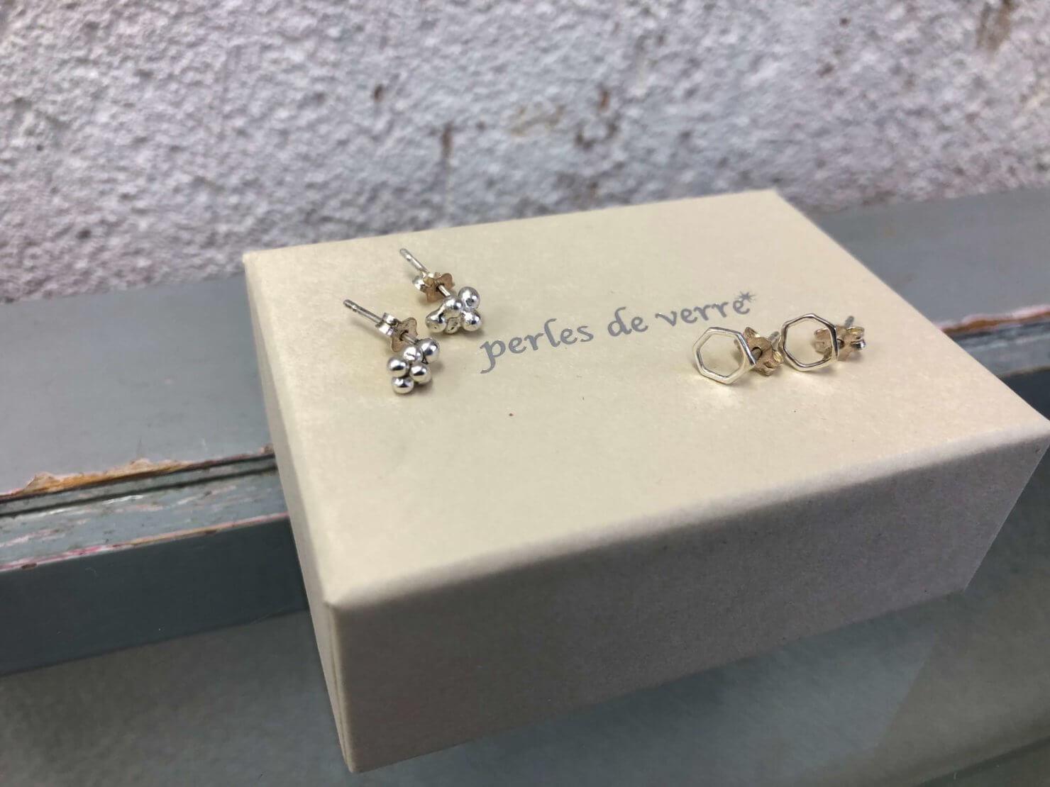 2018年12月4日入荷Perles de verreのピアス