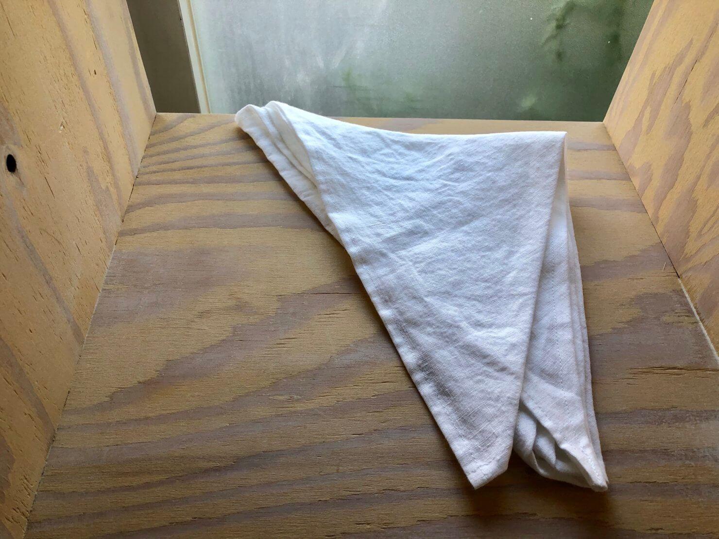白 三角巾