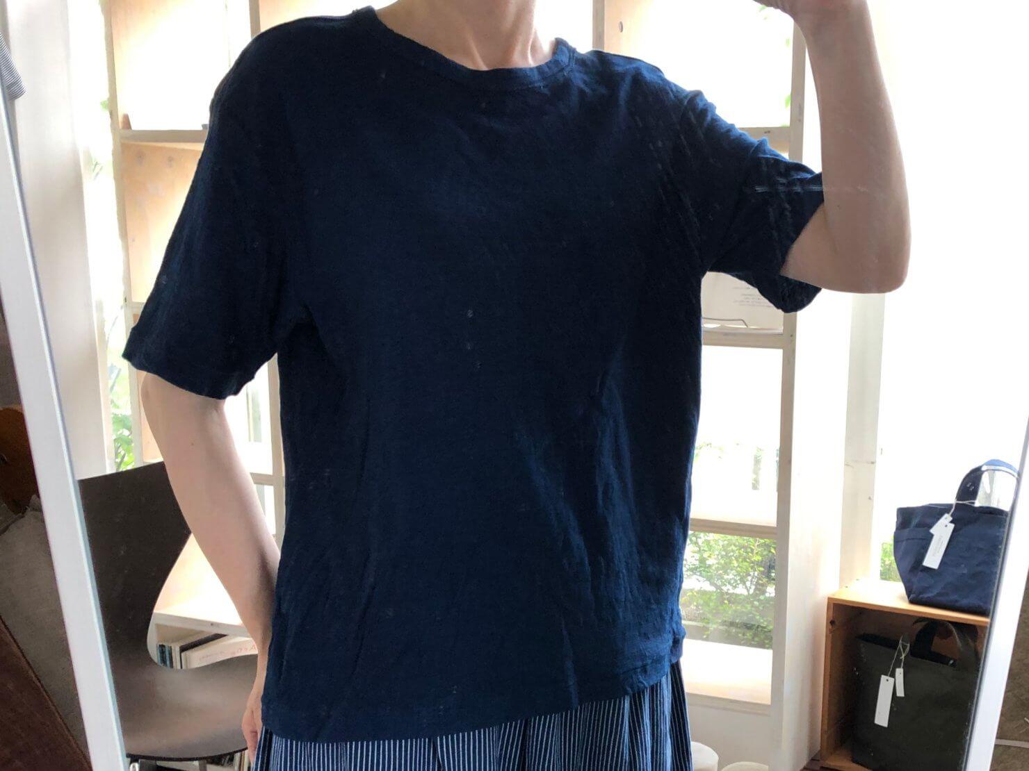 藍染Tシャツ Sサイズ