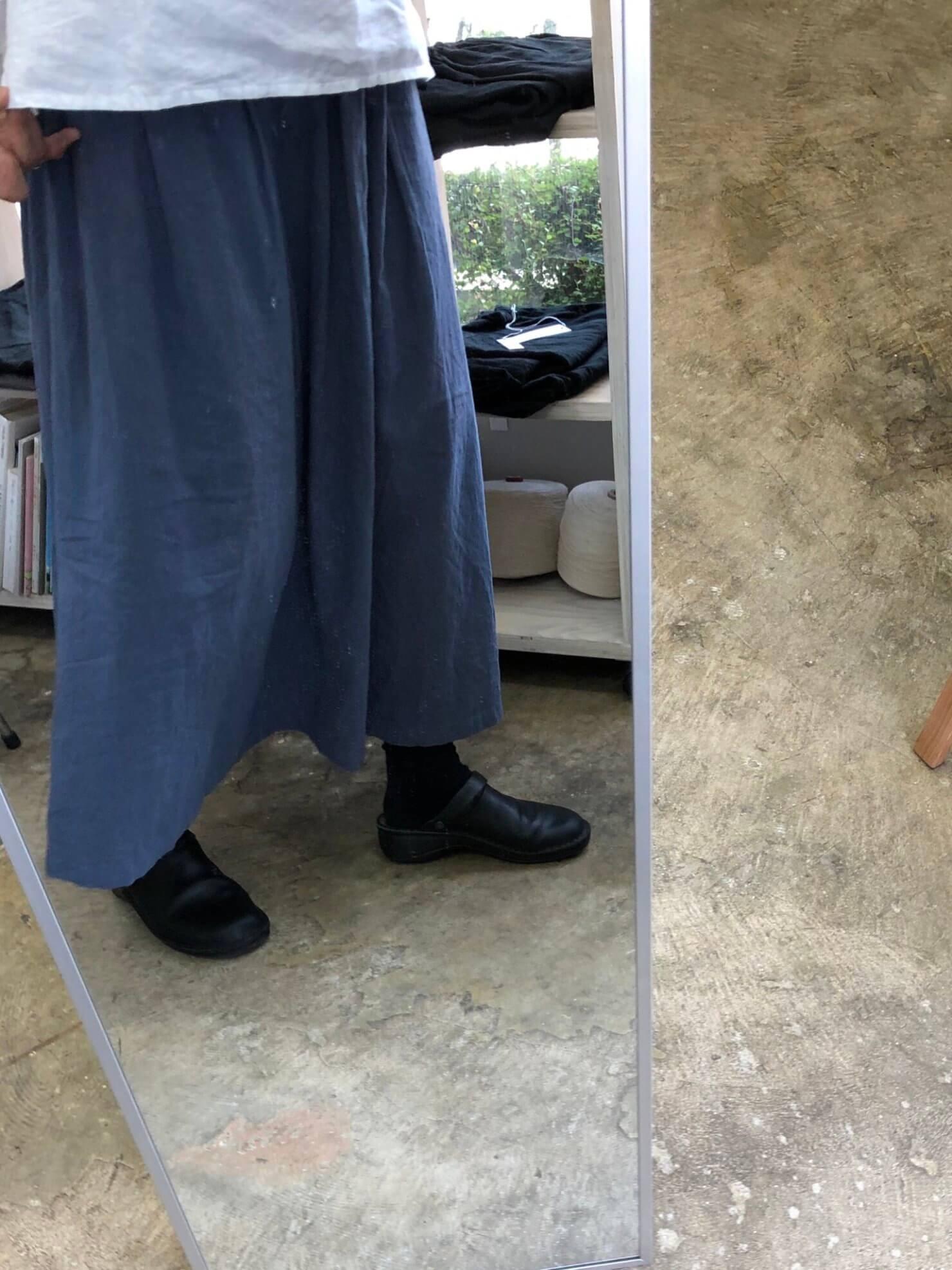 ブルーグレースカート     1