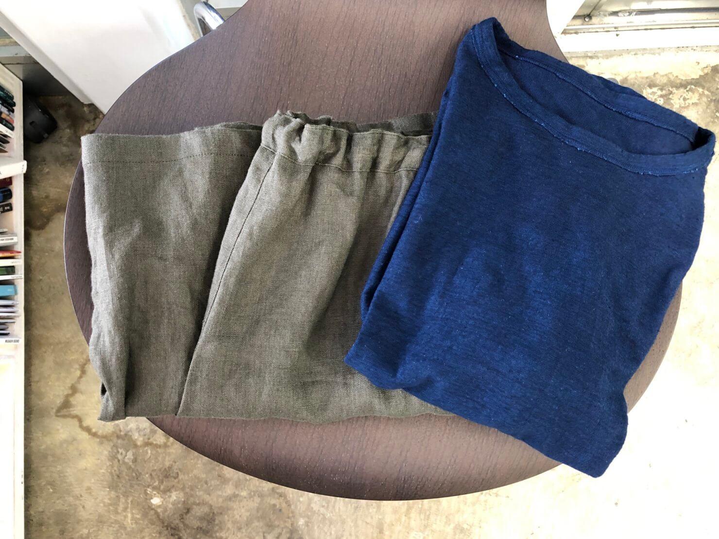 藍染Tシャツ 2