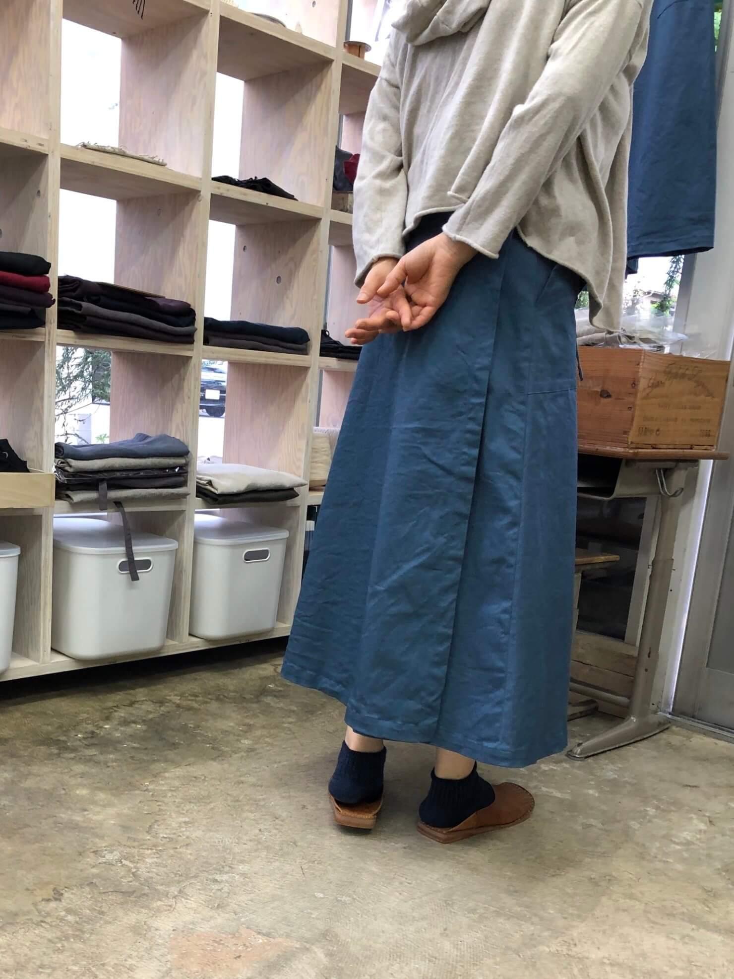 ラップスカート 5