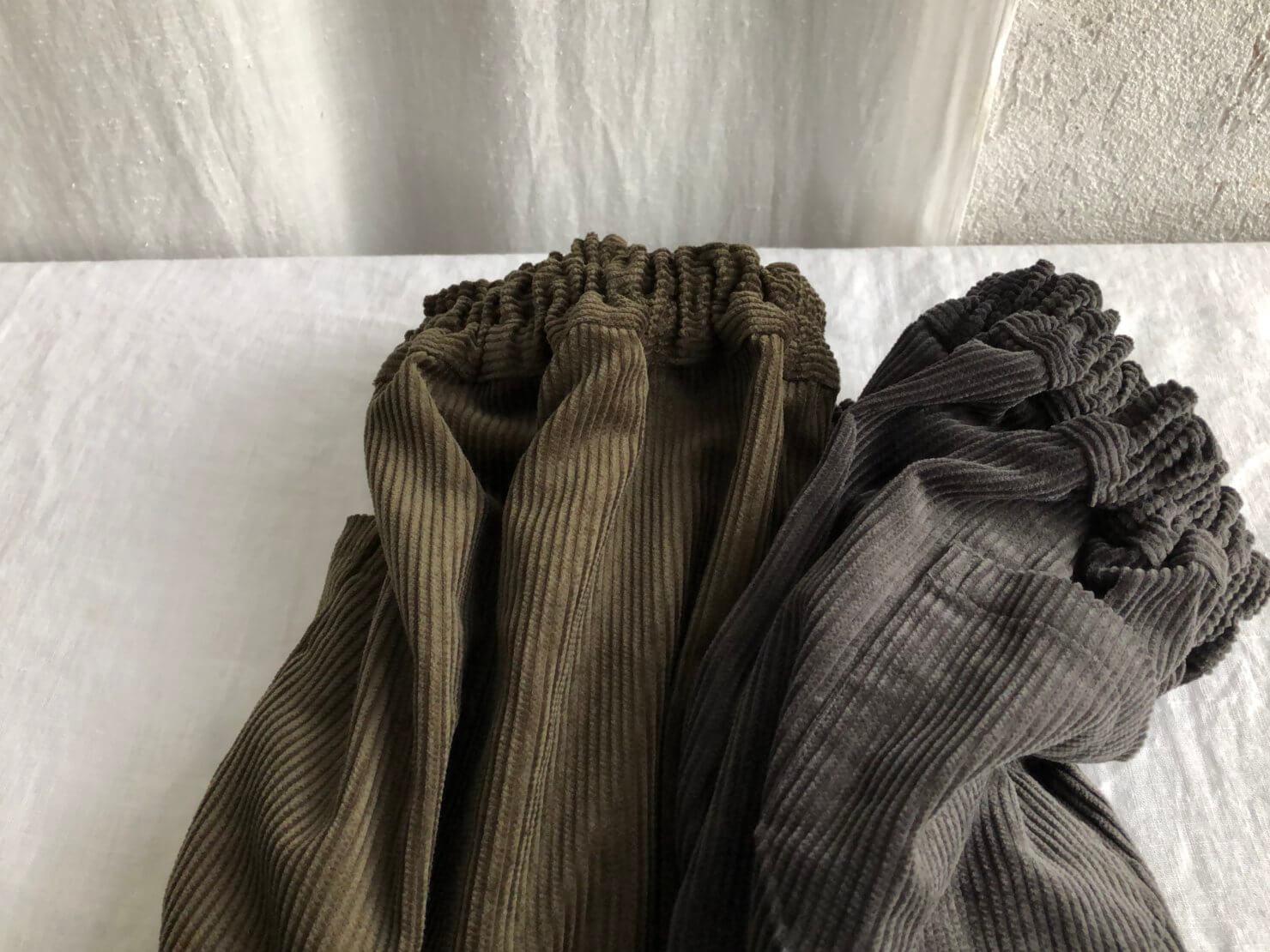 コーデュロイポケットスカート 3