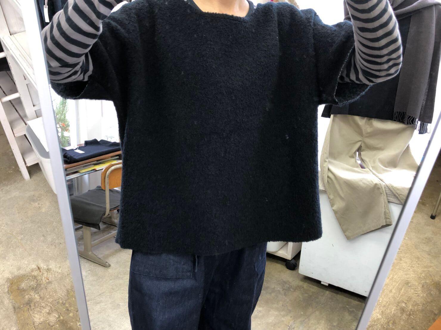 ウールコットン半袖