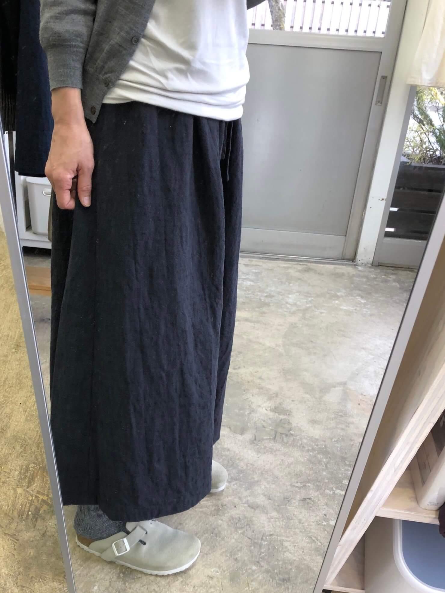 ひもギャザースカート
