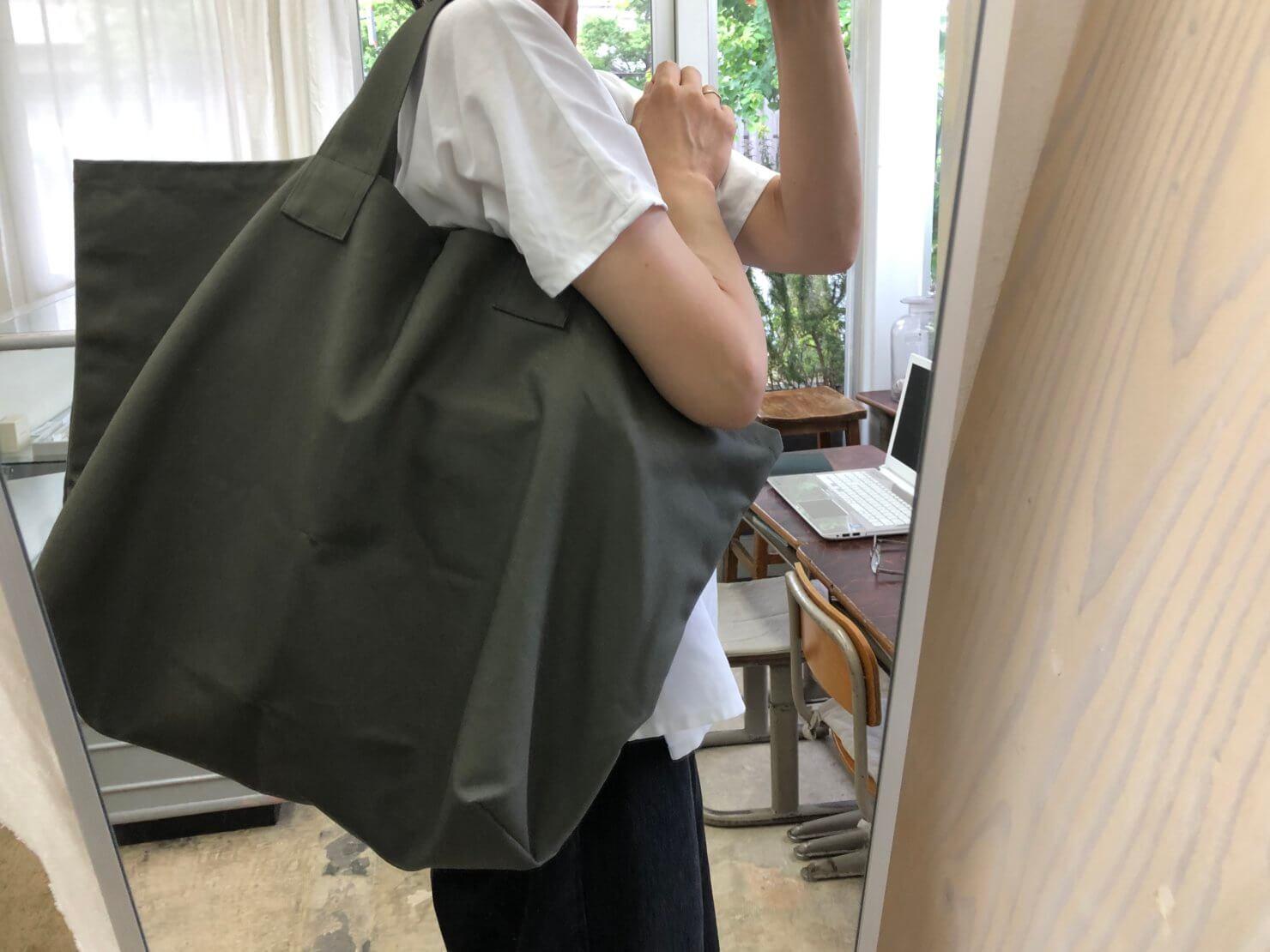 カーキwhatever bag