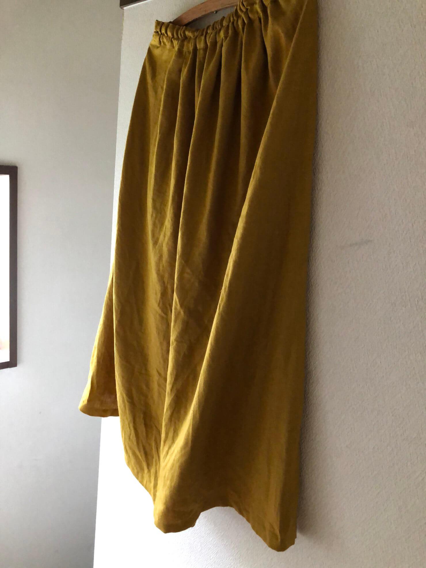 カラシ ギャザースカート