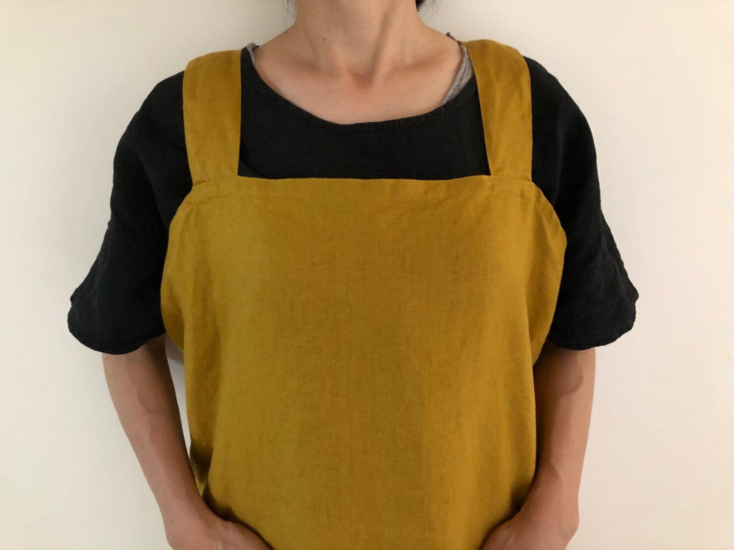 cross apron karashi2サイズ 1