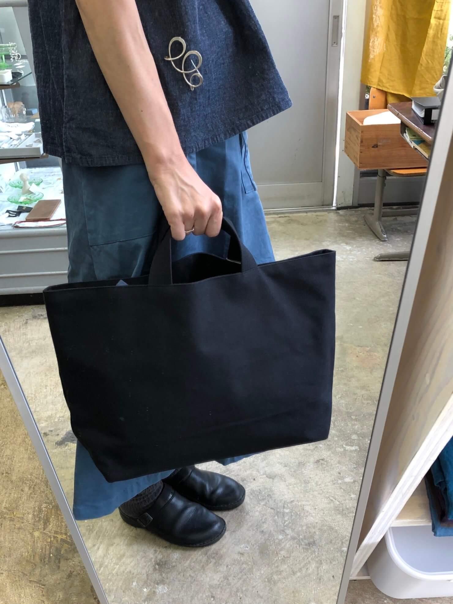 black A bag
