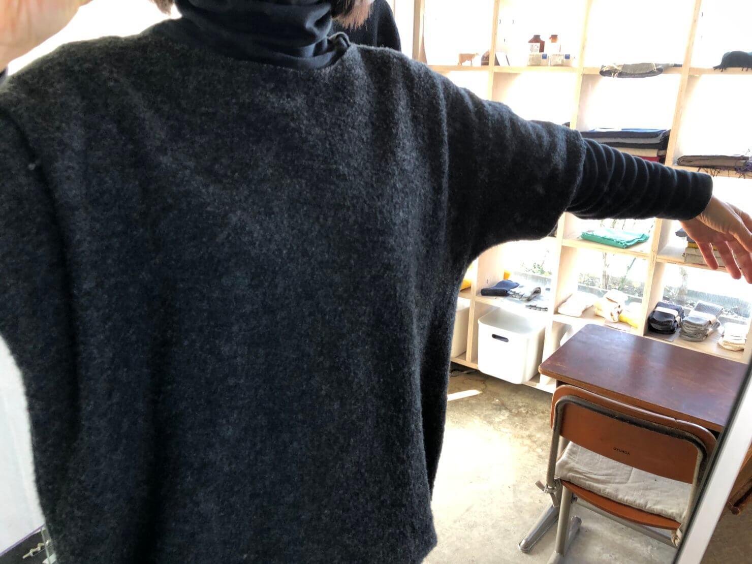 ウール半袖