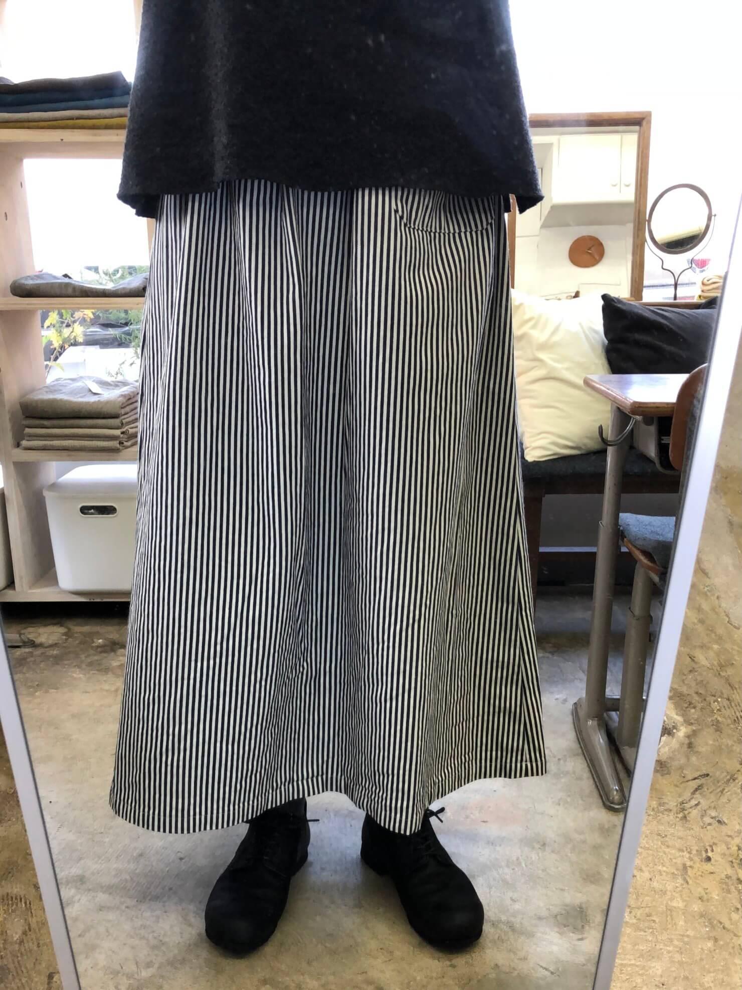 ヒッコリー スカート 85