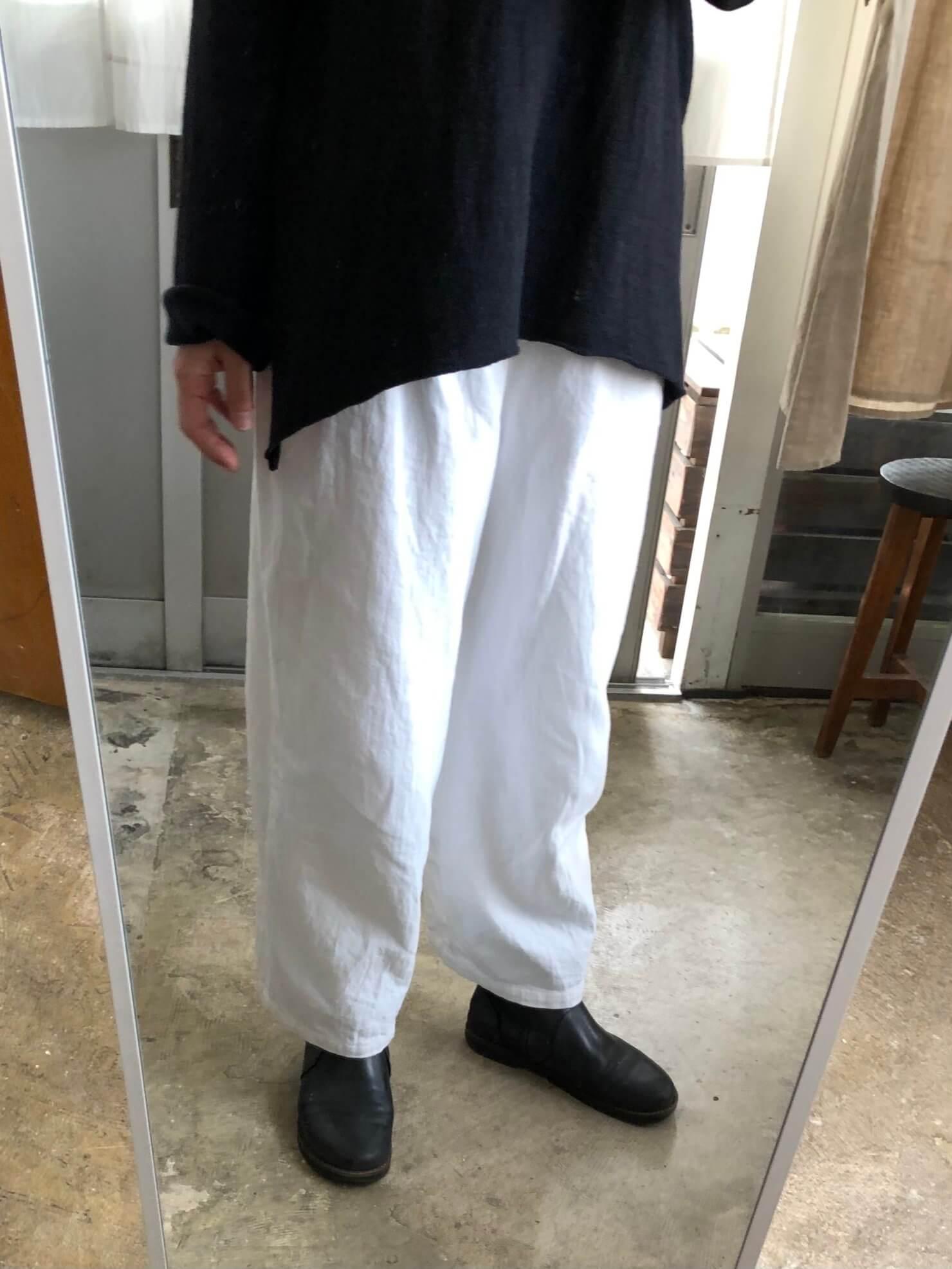 白コットン 161cm