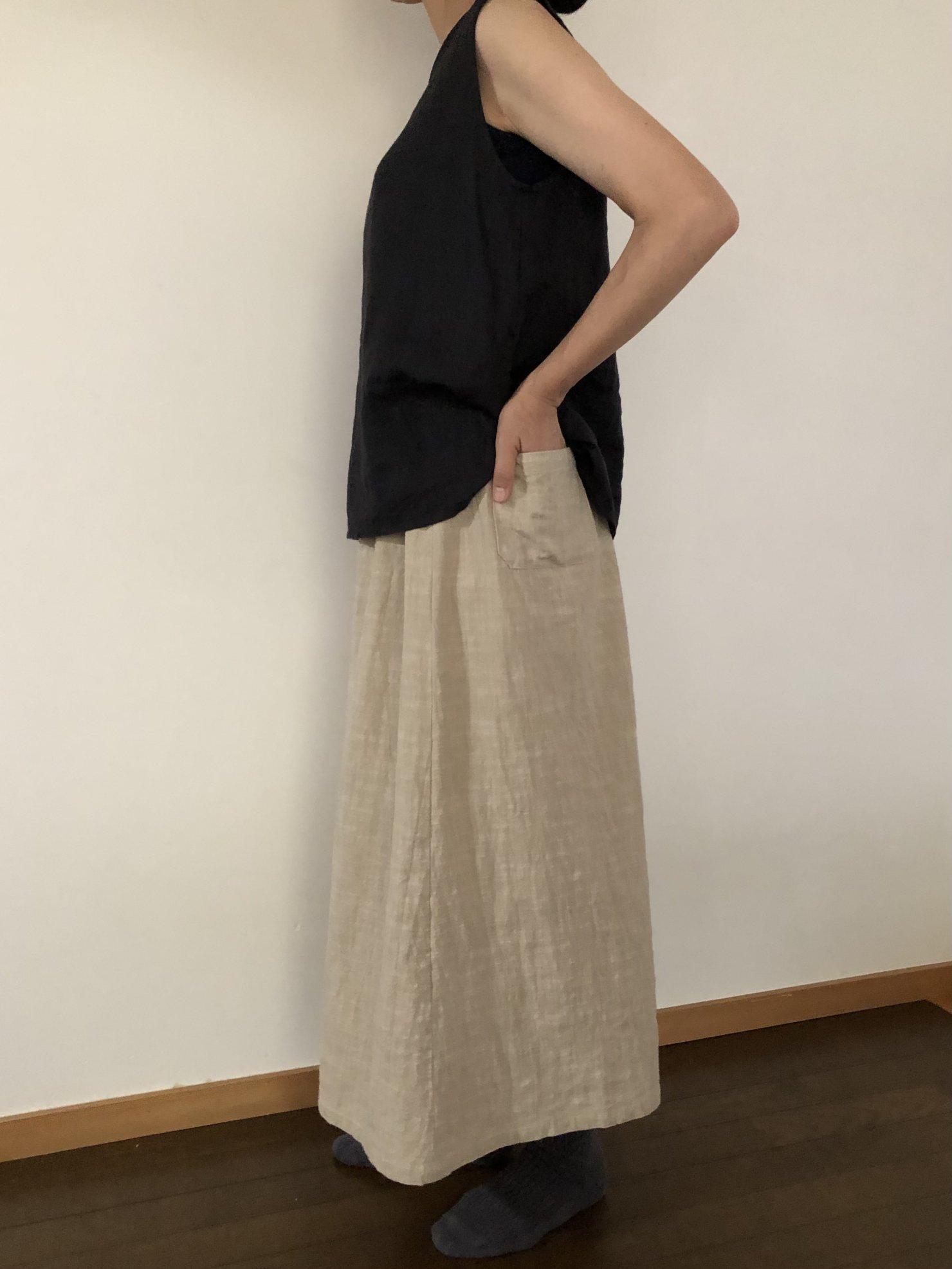 ポケットスカート